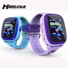 DF25 ребенок SmartWatch IP67 Плавание GPS сенсорный телефон Smart Watch SOS вызова расположение устройства трекер дети Безопасный анти-потерянный Мониторы PK Q50