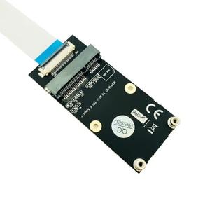 NGFF A + E к Mini PCI-E адаптер NGFF ключ A-E к Mini PCI Express WiFi M.2 WIFI адаптер для половины размера и полноразмерной сетевой карты