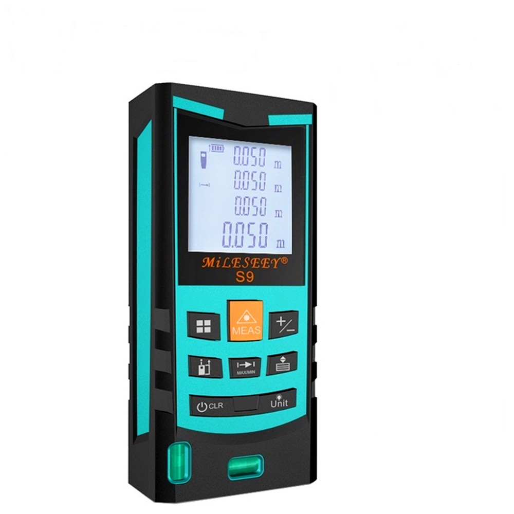 S9 Laser Distance Meter 60M 80M 100M Laser Rangefinder Laser Range Finder Digital Tape infrared ruler Measure Area/volume Tool laser range finder 40m 60m 80m 100m digital laser distance meter tape area volume angle engineer measure construction tools
