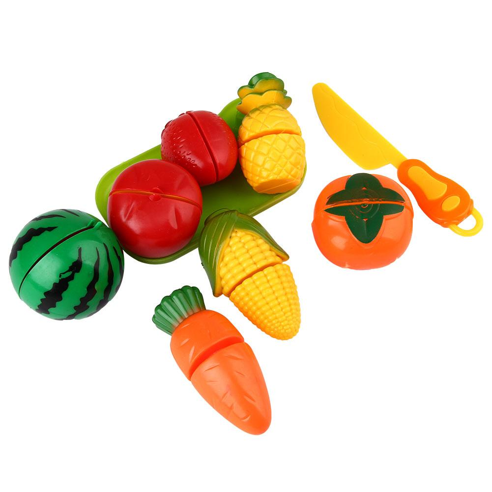Cut fruits game - Creative Funny Kids Pretend Game Roles Play Fruit Cutting Cooking Kitchen Toys For Children Preschool