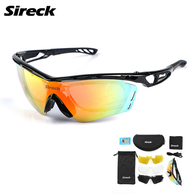 0e413bbd4a Best Offers Sireck Cycling Glasses Polarized Photochromic Cycling  Sunglasses Men Women UV400 Outdoor Sport Bike Glasses