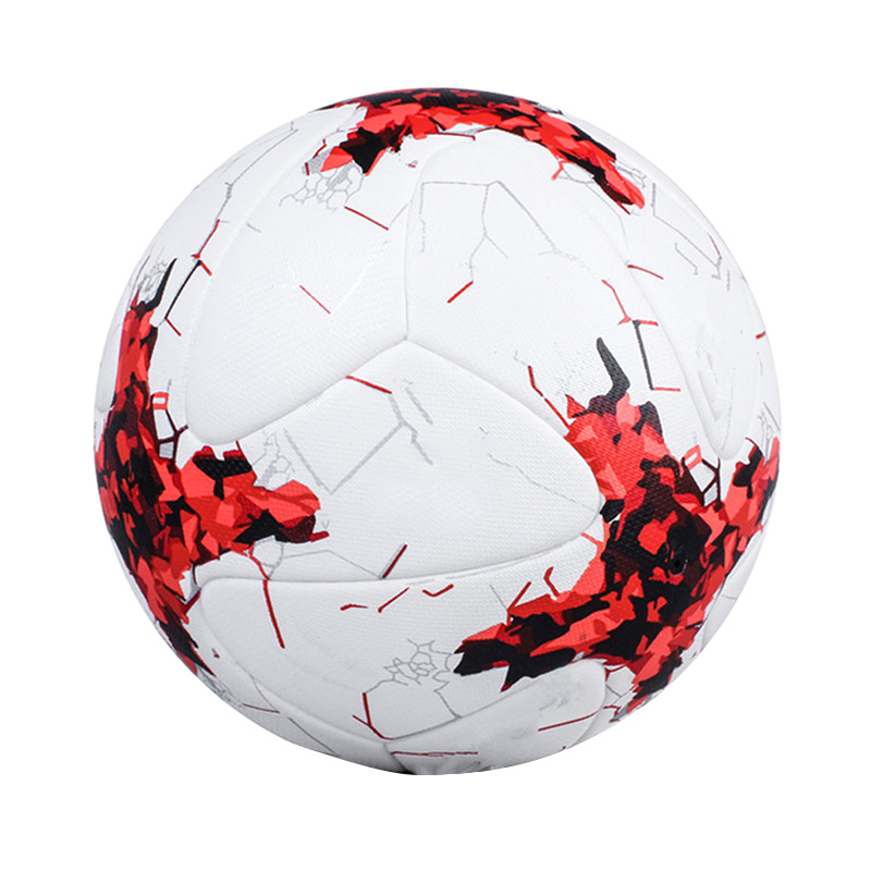 Soccer Ball PU Leather 4/5 Size Football Outdoor Match Training Balls Kids Children Gift B2Cshop ...