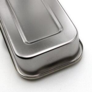 Image 5 - 304 di spessore in acciaio inossidabile medico disinfezione vassoio piastra quadrata con copertura del foro di attrezzature mediche e di strumenti chirurgici