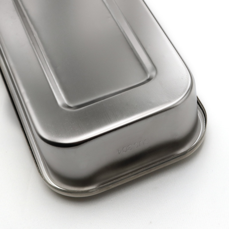 Image 5 - 304 thick medical stainless steel disinfection tray square plate 