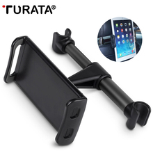 TURATA 4-11 inch Universal Tablet Car Holder For iPad 2 3 4 Mini Air 1 2 3 4 Pro
