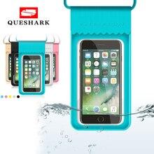 6,0 дюймов водонепроницаемый телефон сумки сенсорный экран плавательный мешок Дайвинг дрейфующих мобильный чехол для телефона речной треккинг надувной сухой Чехол