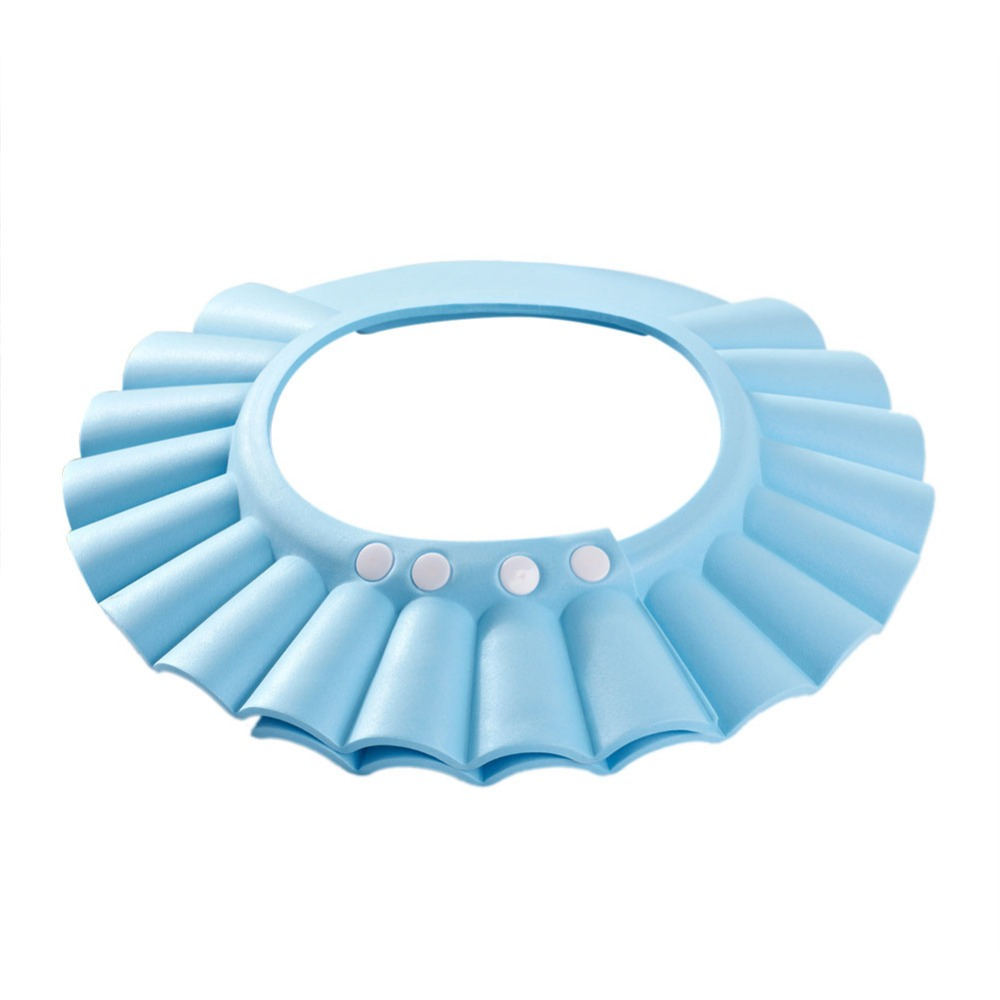 Adjustable Baby Bath Shower Cap Protect Shampoo For Baby Bathing ...