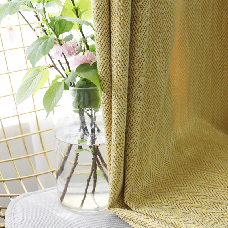CITYINCITY Home Decor luxury Curtains for Living room Blackout Striped Curtain for Bedroom Solid Curtain for