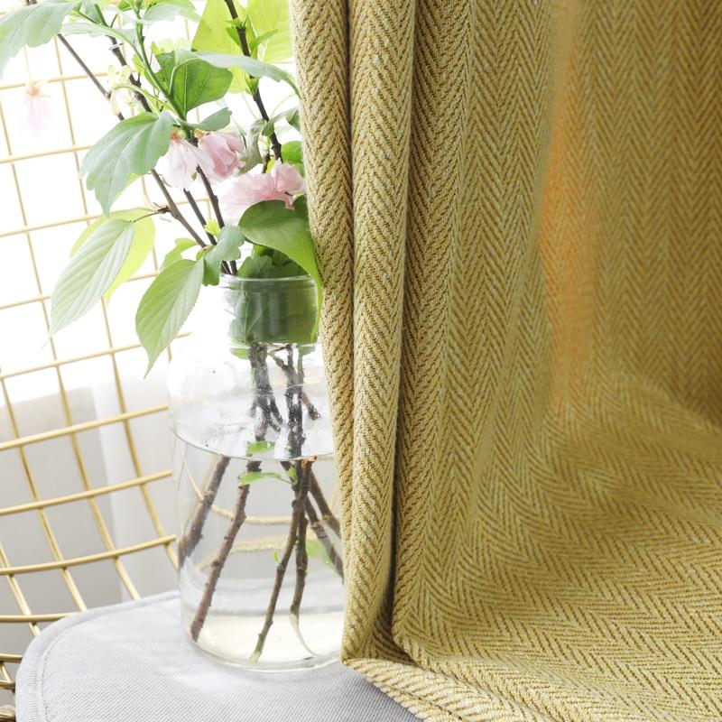 CITYINCITY décor à la maison rideaux de luxe pour salon occultant rideau rayé pour chambre rideau solide pour cuisine personnalisé