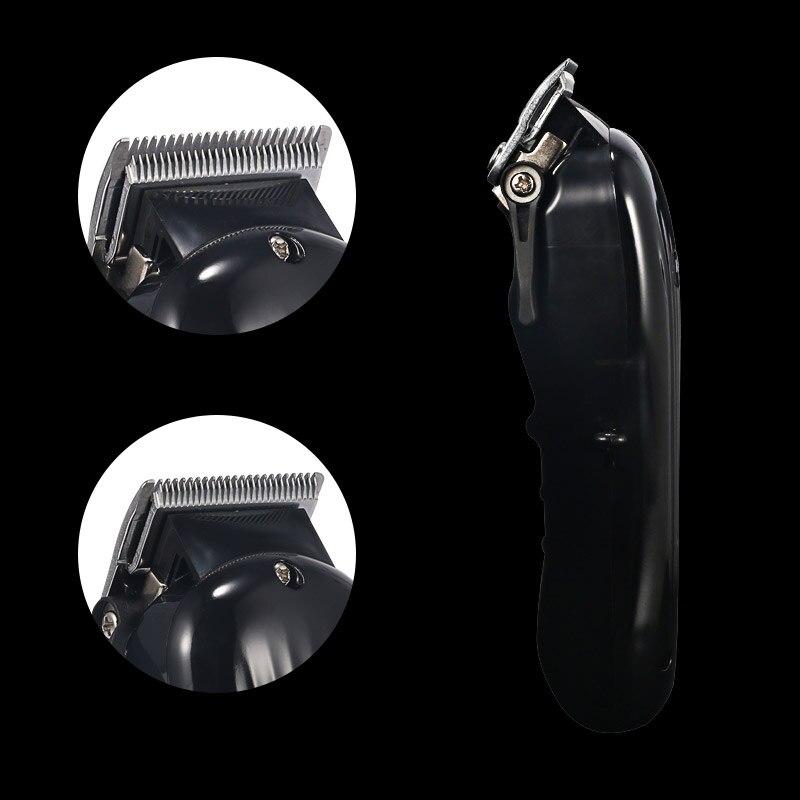 Moteur rotatif Rechargeable tondeuse cheveux professionnel tondeuse cheveux rasage Machine cheveux coupe barbe rasoir électrique - 4
