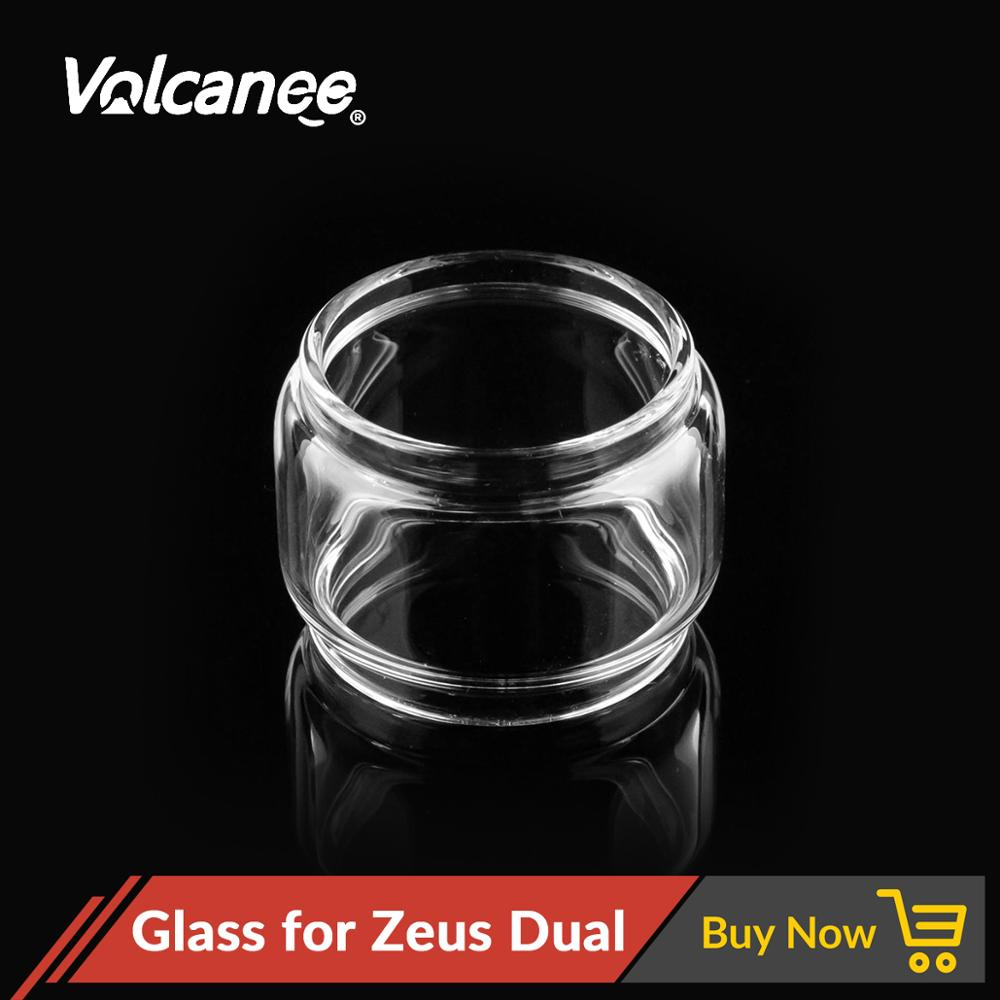 Volcanee Glass Tube Replacement <font><b>30</b></font> Diameter for Zeus Dual RTA Atomizer E Cigarette Capacity Replacement Glass <font><b>Vape</b></font> Tank image