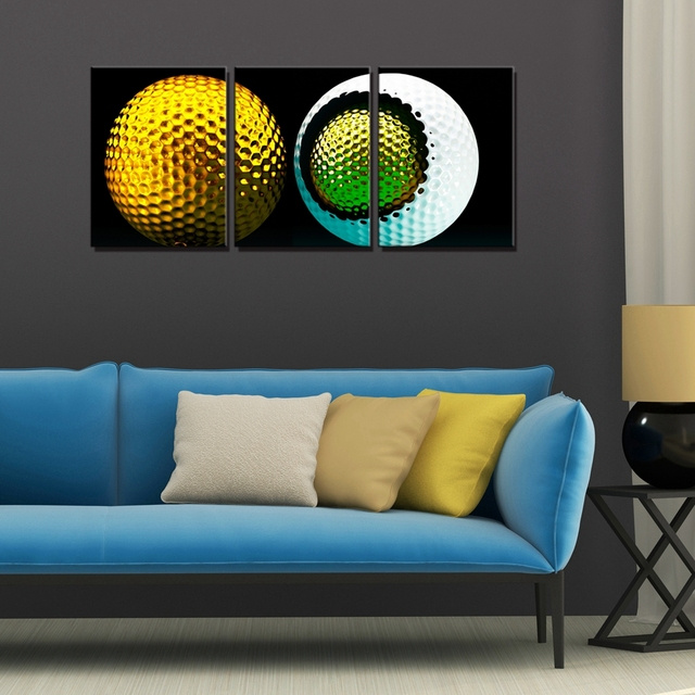 Golf Balls Wall Art Canvas Prints Sport Canvas Paintings for Dining ...