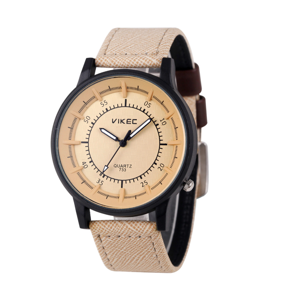 Fashion Men's Leather Stainless Steel Military Casual Analog Quartz Wrist Watch  men Clock Men watch dignity D8 lovesky fashion 2016 unisex watches women men casual leather analog stainless steel quartz wrist watch dress watch relogio clock