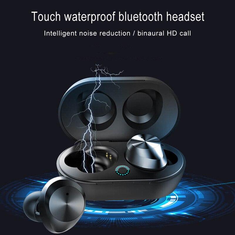 TWS écouteurs sans fil Bluetooth V5.0 écouteurs stéréo son Sport écouteurs