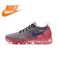 Official Original NIKE Air Max Vapormax Flyknit Women's Running Shoes Sneakers Breathable Rubber Cushioning Lace Up 942843 Cozy