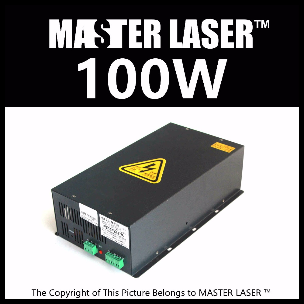 HY-T100 Good Quality High Power CO2 Laser Tube Power Supply Laser Machine for Engraving and Cutting high voltage flyback transformer for co2 50w laser power supply