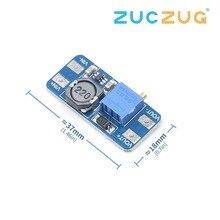 MT3608 DC-DC повышающий усилитель конвертера модуль питания повышающий макс. выход 28 в 2A для Arduino