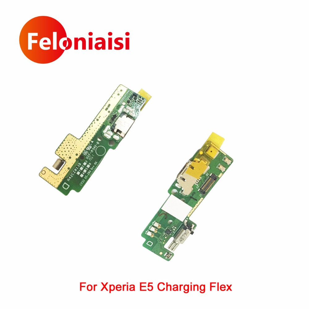 High Quality For Sony Xperia E5 F3311 F3313 Micro USB Charging Port Charger Dock Plug Connector Flex Cable MIC Board Replacement