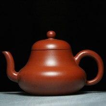 High-grade Teapot Yixing Teapots 180ml Bouns 3 Cups Ceramic Chinese Handmade Kung Fu Set Zisha Porcelain Kettle Purple Clay Pot