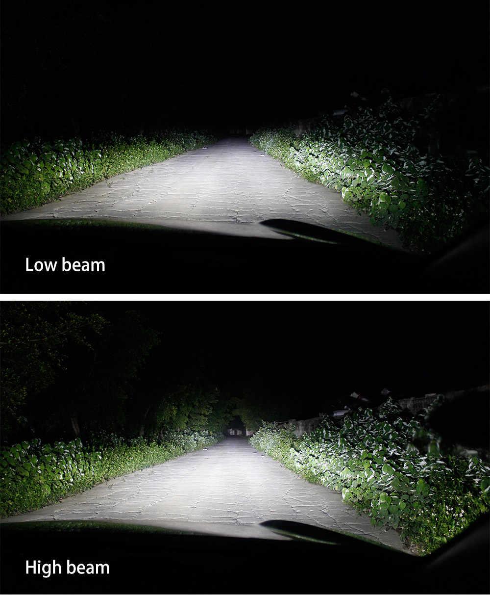 Zdatt H7 Led Lamp H4 H11 LED Super Bright Car Led Light H1 H8 H9 9005 Headlights Canbus 100W 12000LM 12V Automobiles Fog Lamp