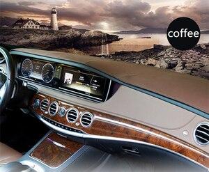 Image 4 - For Mercedes Benz GLA CLA Class GLA180 GLA200 CLA250 220 Leather Dashmat Dashboard Cover Pad Dash Mat Sunshade carpet 2013 2019