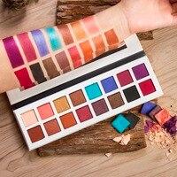 DE'LANCI Pro 11 Shimmer 5 Colores de Maquillaje de Sombra de Ojos Mate Paleta de Sombra de ojos-Altamente Pigmentadas Multicolor Colección