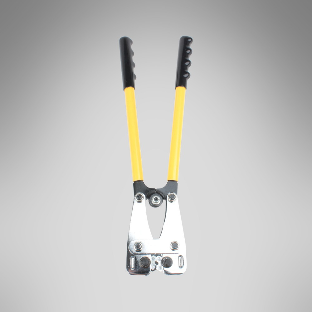 Mechanical Wire Terminal Cable Crimper Rotating Dies Lug Crimping ...