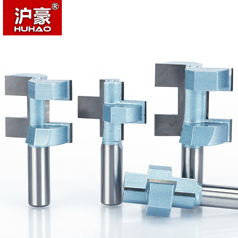 """HUHAO 1pc 1/2"""" Shank Router Bits For Wood Woodworking Tool Semicircle Mortise Stitching Knife Floor T - mortis CNC Cutter"""