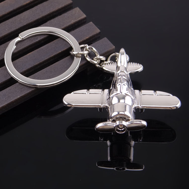 New Vintage Plane Key Chain Men Fashion Car Key Ring Women Key Holder Gift Jewelry Wholesale Metal Keychains Party Gift Jewelry