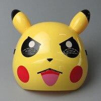 Pikachu Pokemon Mask Led Growing Masks Cartoon Lovely Party Dress Up Toys