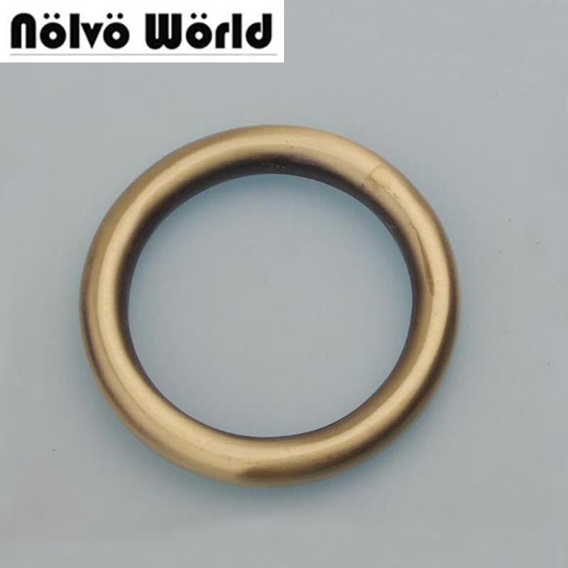 Alloy welded ring o,50mm outside Big Rings,brush antique brass 6.0mm line 38mminside for pet's strap ring,bags accessory metal 10pcs lot 9x5x2 mm o rings rubber sealing o ring 9mm od x 2mm cs