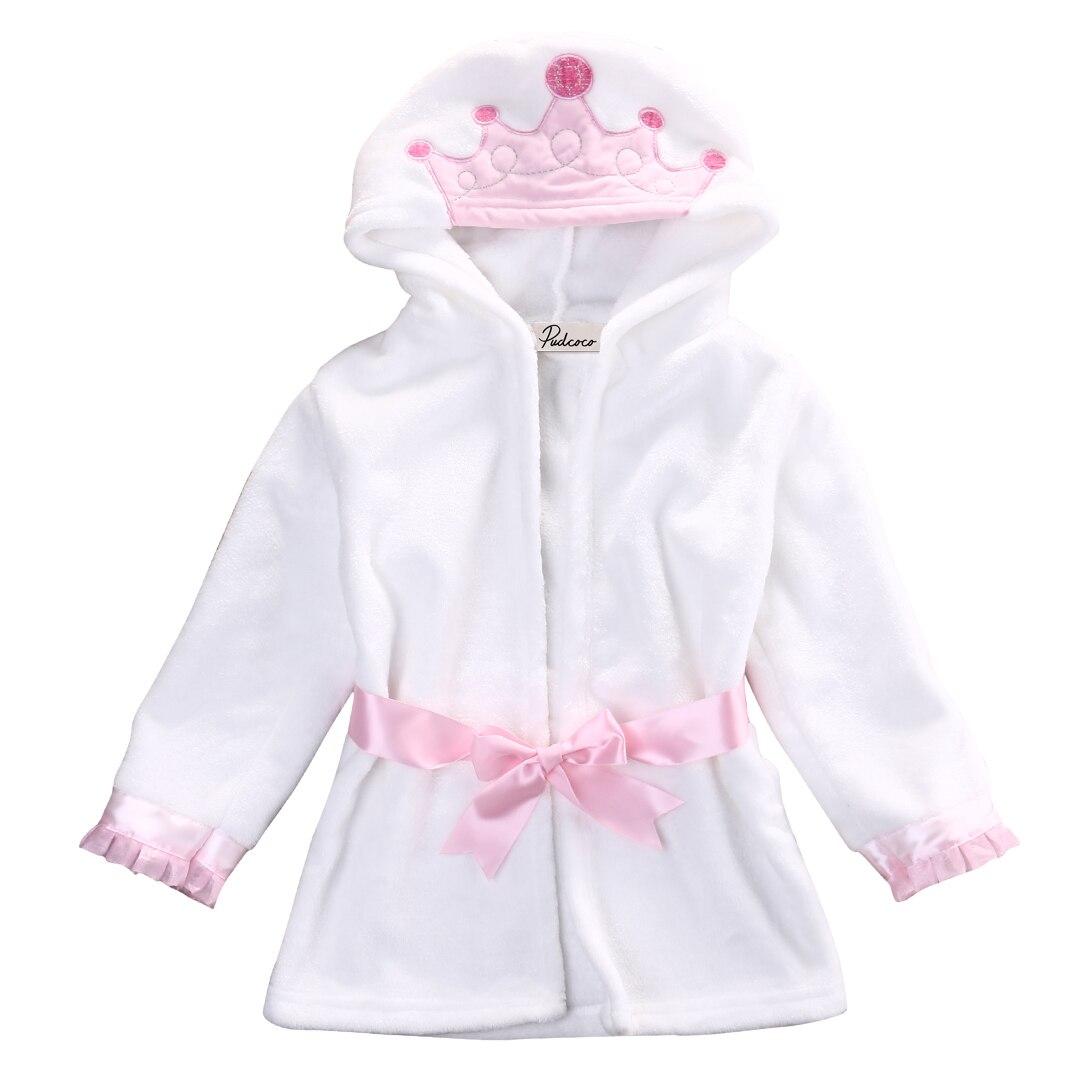 Newborn Sleepwear Robes Cartoon Hoodies Pyjama Baby Sleep Gown ...