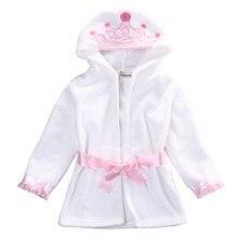 90f188eaeb3 Newborn Sleepwear Robes Cartoon Hoodies Pyjama Baby Sleep Gown Cotton  Pijamas Infantil Roupao Bath Robe Kids Baby Girls Clothes