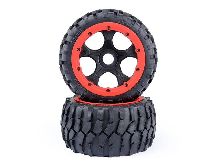 baja 5B gravel tire wheels rear set baja 5b dirt tire set 2pc front 2pc rear