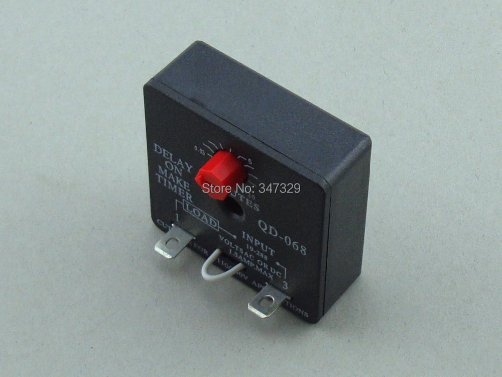 Time Delay Relay QD 068 Delay On Make Timer with 0 03 10Minutes Adjustable Delay Universal aliexpress com buy time delay relay qd 068 delay on make timer icm102 wiring diagram at gsmportal.co