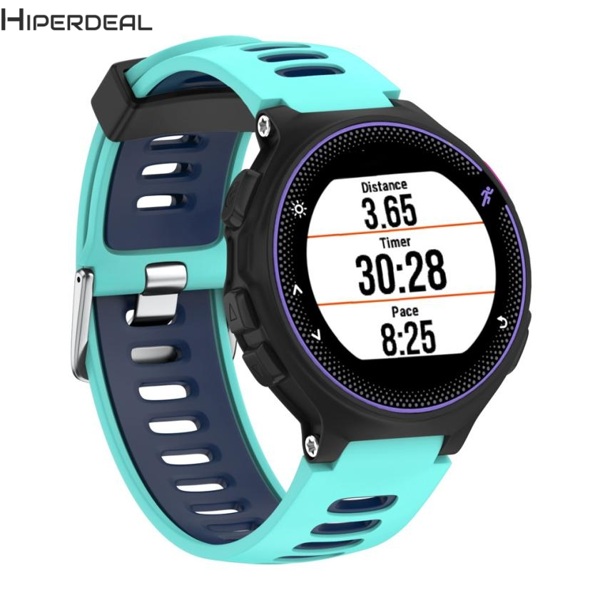 Substituição HIPERDEAL New Soft Silicone Relógio de Pulso Banda para Garmin Forerunner 230/235/220 Hot 17Dec16 Navio Da Gota F