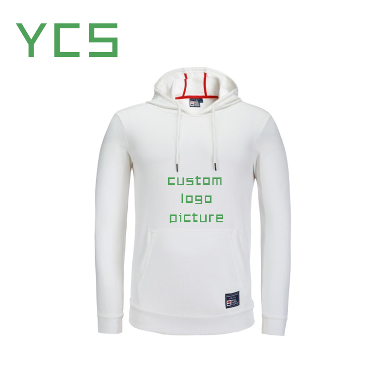 YCS custom logo printing hoody i love my awesome Wife&Husband DIY couple clothing holiday lovely gift sweatshirt Couple hoodies(China)