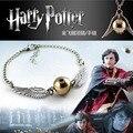 2016 Hot Selling The MovieThe hallows Harry Potter Pulseira de Ouro-banhado e silver925
