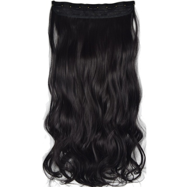 Topreety Heat Resistant B5 Synthetic Hair Fiber 26 65cm 130gr Wavy