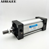 SC63x100 Single Rod Double Action Pneumatic Air Cylinder