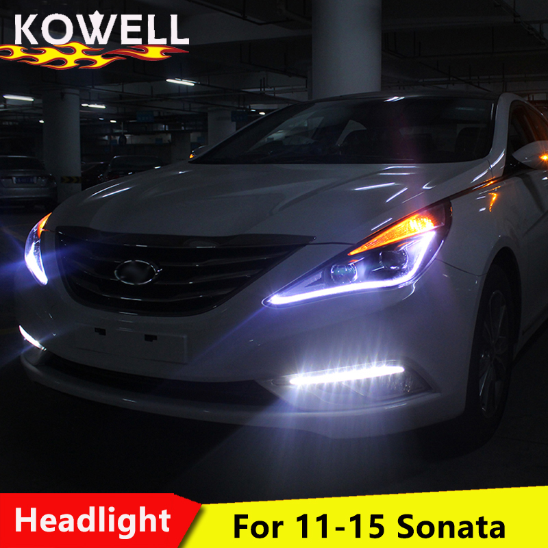car for 2019 Ford Focus full LED light headlight assembly LED daytime running light LED streamer