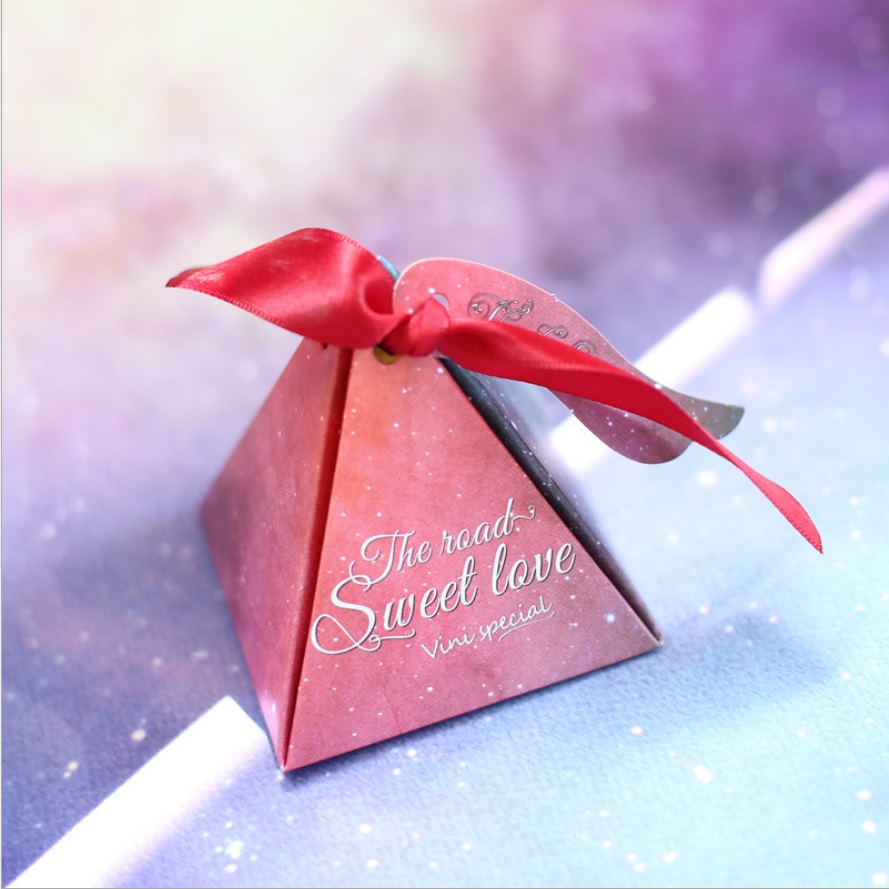 50pcs/lot Star favorite wedding candy box gift box wedding supplies ...