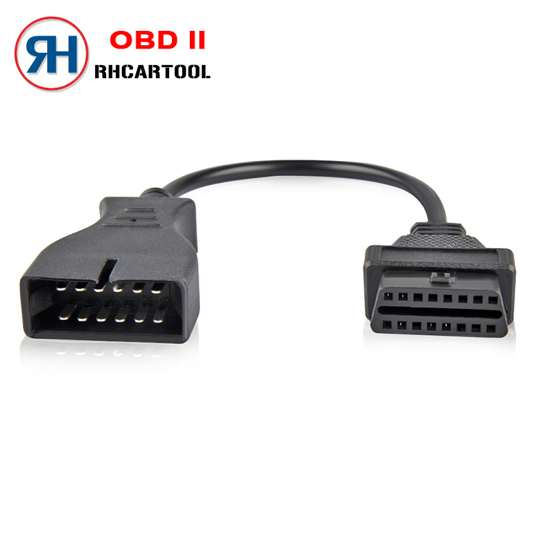 Cars OBD2 60/100 cm Extension cable Connector Adapter for GM 12 Pin to 16 Pin Auto Diagnostic Cable For GM Vehicles Car adapter