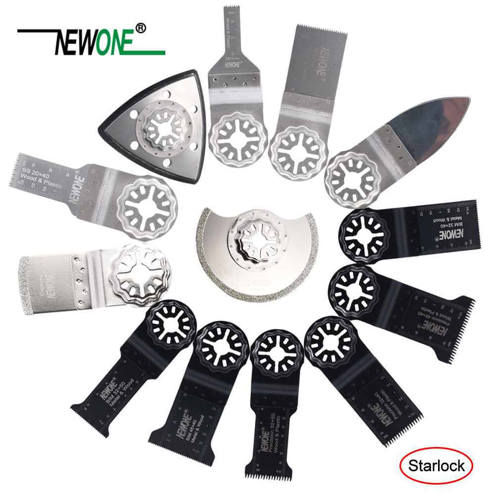Newone One-piece STARLOCK Multi Saw Blade Oscillating Tool Blades Fit For Bosch And Fein Starlock Multi-tools
