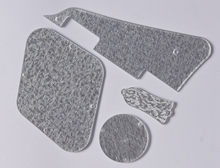 Silver Sparkle Pickguard Cavity Covers Truss Rod Cover Set Fits Gibson Les Paul
