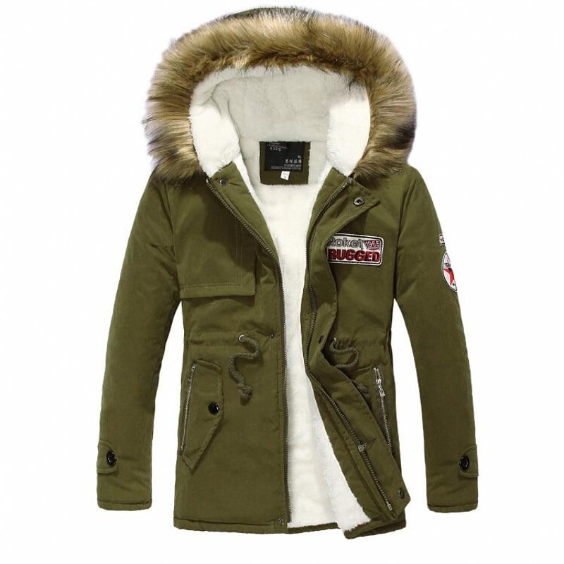 Popular Green Parka Coat Men-Buy Cheap Green Parka Coat Men lots ...