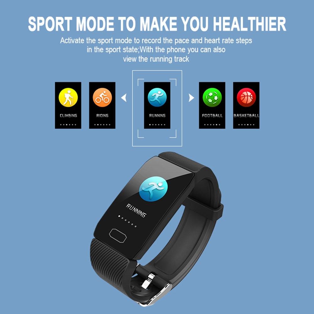 Smart Watch Fitness Bracelet Waterproof Weather Display Women 1
