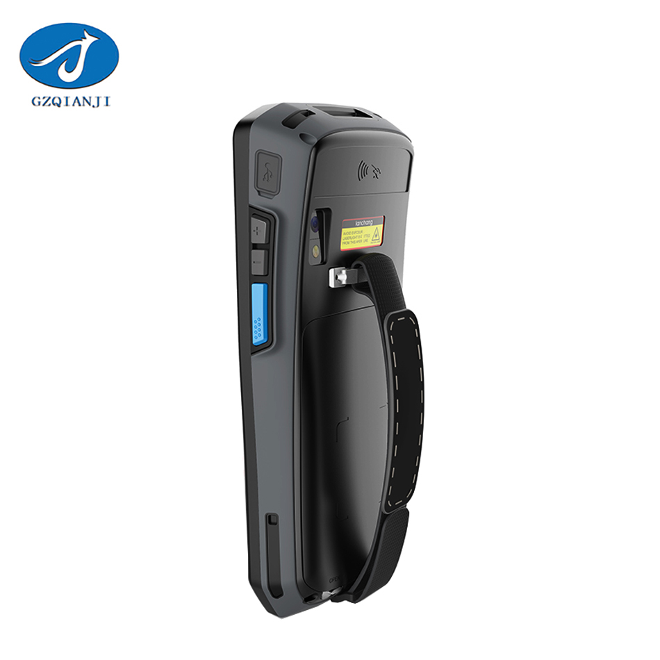 Outdoor IP656 Waterproof Industrial Handheld data collection mobile computer terminal built-in 1d barcode scanner android pda