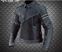 Summer Motorcycle Jacket breathable Motorcycle Clothing Denim Motorcycle Mesh Suit jacket riding denim anti fall JK006