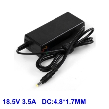 18.5V 3.5A 4.8*1.7 laptop Charger Adapter For HP Compaq nc6320 6200s nc6120 nc6230 NX6140 6520s 6720s CQ510 CQ610 ZT3000 ZT3400